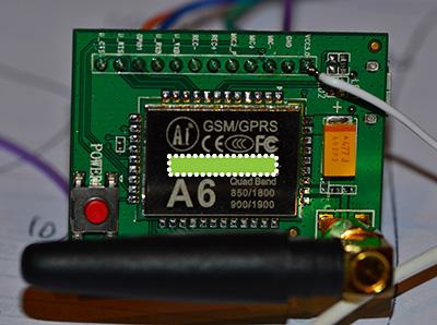 Arduino A6 GSM module